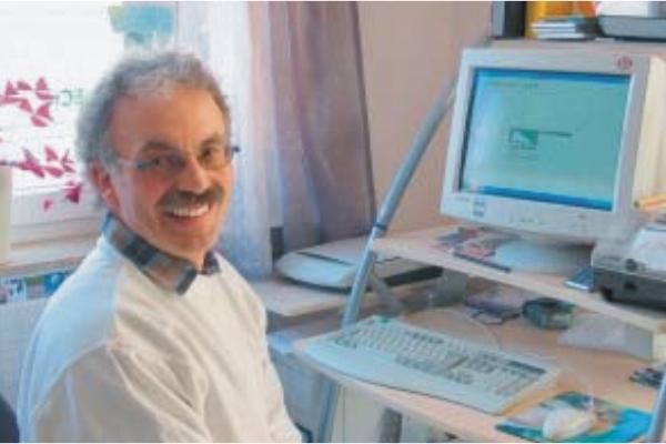 Manfred heck setzt auf die Maler-Software und den Praxis-Leistungskatalog von C.A.T.S.-Soft
