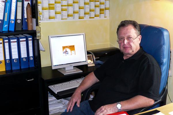 Klaus Pitz setzt bei Baustellensteuerung, Projektüberwachung und Nachkalkulation auf die betriebswirtschaftliche Maler-Software von C.A.T.S.-Soft