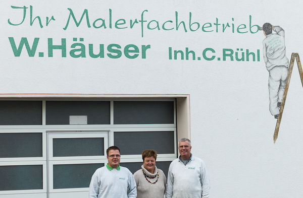 Malerfachbetrieb Häuser Rühl setzt auf Maler-Software von C.A.T.S.-Soft