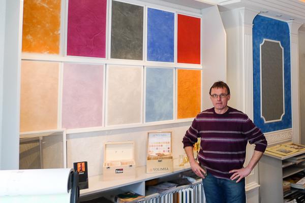 Johannes Hünnemeyer nutzt die Maler-Software, die mobile Zeiterfassung und Baustellenüberwachung und die Farbgestaltung paintersBOX