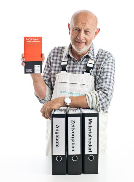 Der Praxis-Leistungskatalog bietet fix und fertig kalkulierte Malerstammdaten