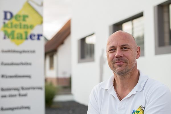 Malermeister Bernd Bundschuh setzt beim Raumaufmaß auf das CATSmobil Skizzenaufmaß